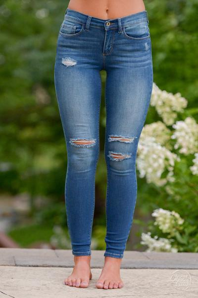 200 cute ripped jeans outfits for winter