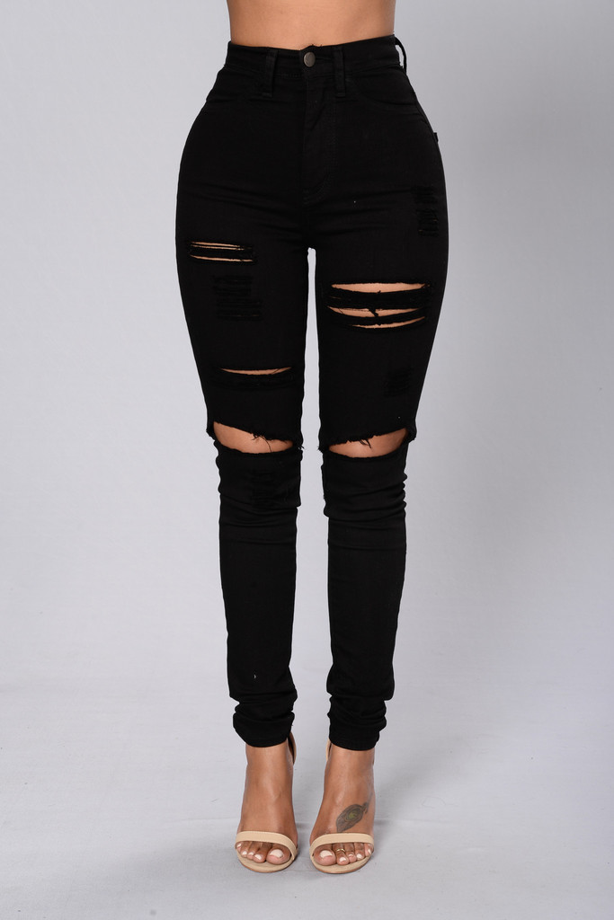 brave cute outfits with ripped jeans 14