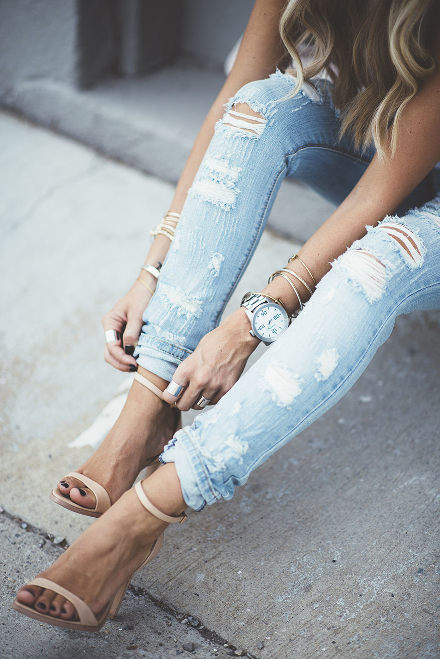 200 cute ripped jeans outfits for winter  mco