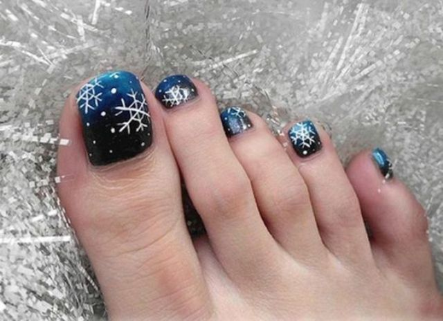 Toe Nail Design Ideas Winter Mco