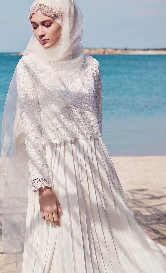Cute Muslim Wedding Dresses featuring the Hijab | MCO