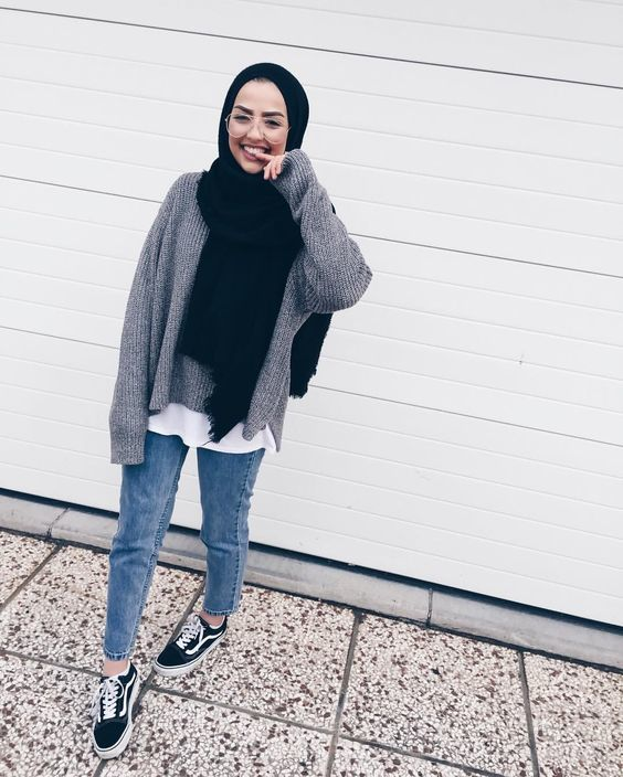 30+ Cute Hijab School Outfits for Muslim Teen Girls | MCO