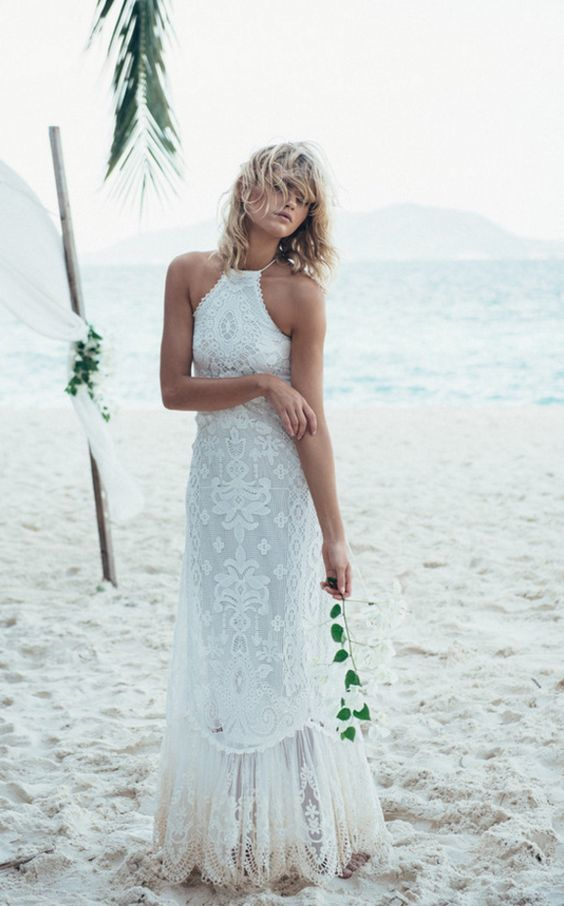 60 Absolutely Stunning Beach Wedding Dresses Mco