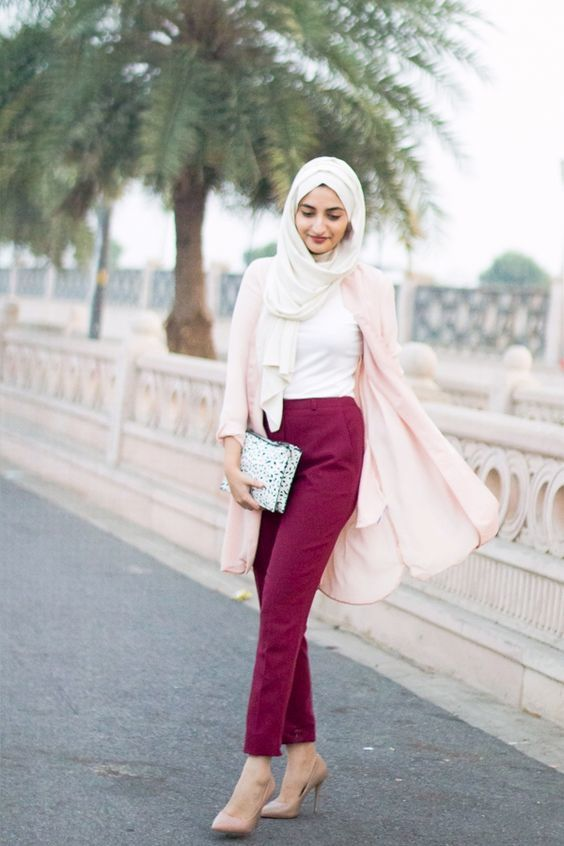 30+ Modern Muslimah Fashion Outfit Ideas for Summer