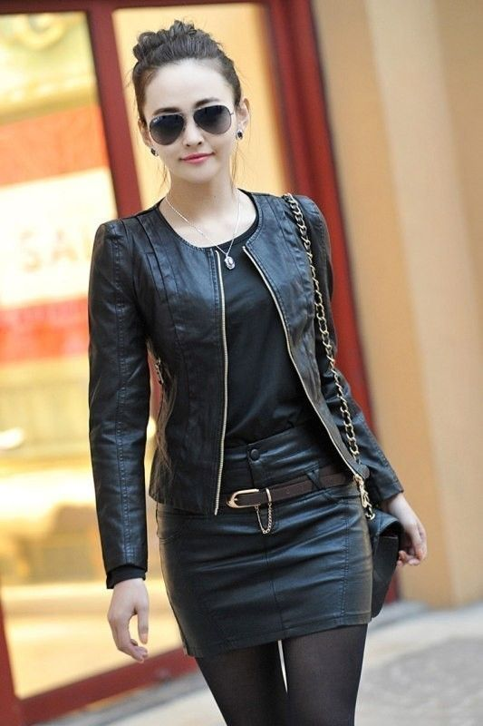 Black Jean Jackets Womens