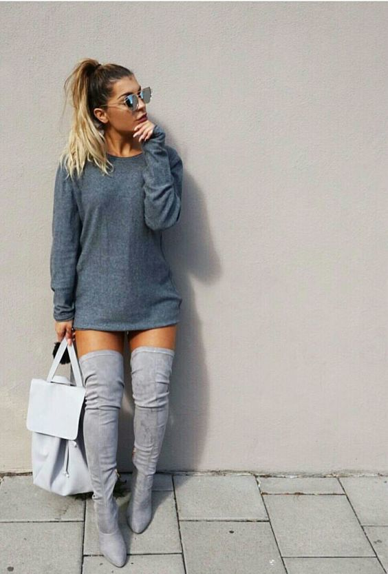 30+ Ways to Wear Thigh High Boots