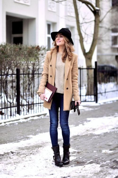 40+ Cute School Outfits for Winter 2017 2018 – College and High School
