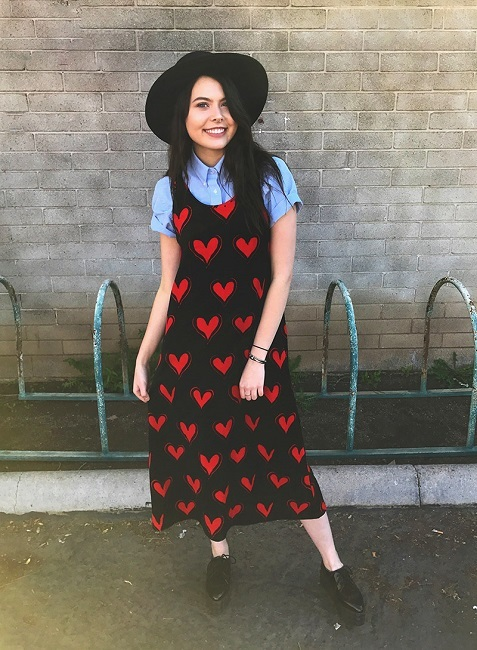 30 Casual Valentine's Day Outfits for Women 2018