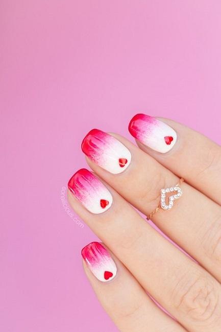 20+ Valentine's Day Nail Design 2018