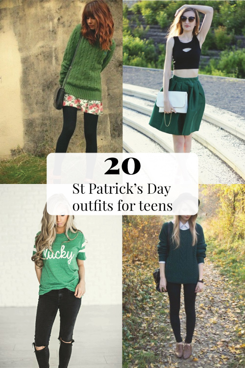 20 Cute St Patrick's Day Outfits for Teens