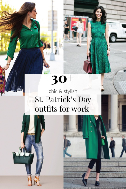 30+ Chic St Patrick's Day Outfits for Work