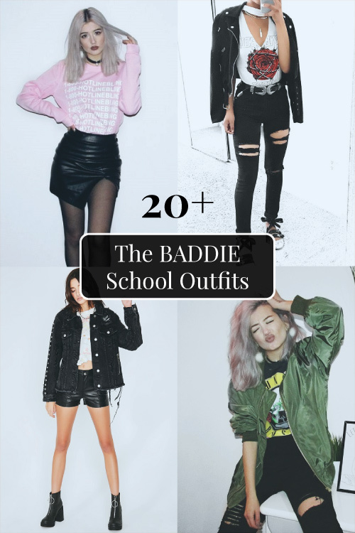 20+ Baddie Style School Outfits for Teens