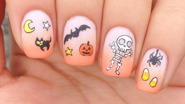 Spooky and Fun Halloween Nail Ideas 2018
