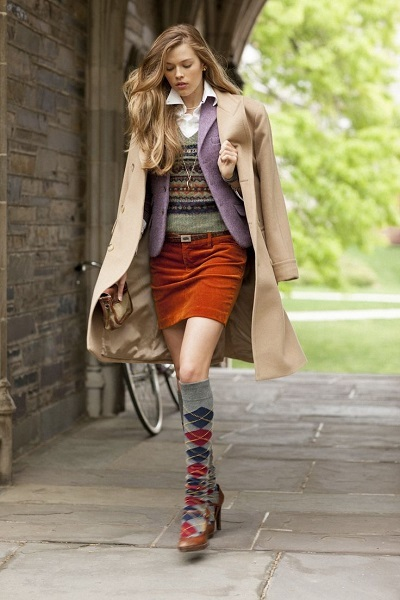 40 Preppy Fall Outfits for College Girls